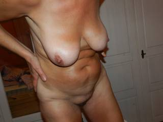 love to suck your tits with my hand between your legs as I,m finger fucking your pussy hole mmmm