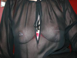 The nipple shields are so hot and sexy.