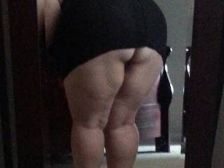 Great ass and sexxxy legs you have there!!!