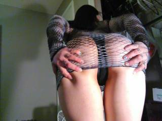 Me spreading my sweet ass cheeks apart. Tell me and my hubby what u think
