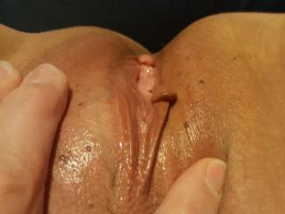 My new girlfriend's pussy is the best tasting pussy ever.  And it can become a regular fountain if I eat it long enough. Then, once I can't stand any more waiting and decide I have to enter it... heaven on Earth