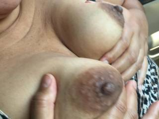 This little Mexican whore doesn't get taken care of by her husband so she uses OKCupid to find guys like me to give her what she wants.  We find a large parking lot and have at it! At first she didn't want pics. Now she insists.