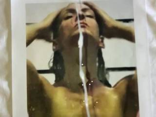 Massive slow motion facial tribute! Just wondering if you would like to be next? Who wants to be covered in my hot load?