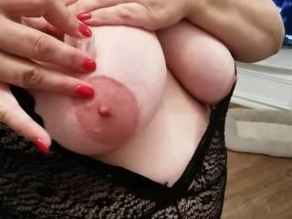 getting my nipples hard