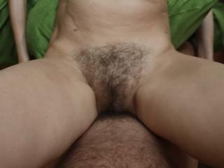 Love her hairy bush