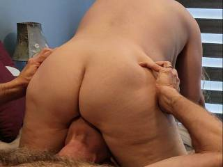 Grab this married ass, and shove that pussy down on your face. Enjoy a meal of delicious pussy. Check out Mrs. Shutterbug58\'s newest video as to how you can enjoy some delicious pussy.