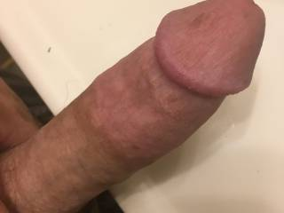 Wishing I had someone's hot load all over my cock right now