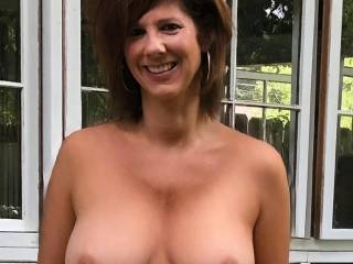 Fun out back with my 50-year old MILf!