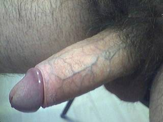 """Awesome piece """"GoBig""""  Thanks for the tease man.  I happen to reside in rural ND and dream of having a rod like yours to suck and swallow every PM.  Thanks again for the hot pic of that geourgous cock. W"""