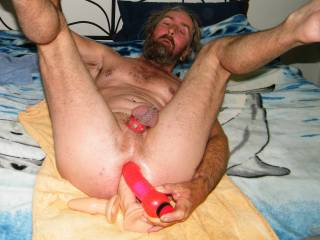 hubby playing