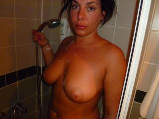 perfect cum shower
