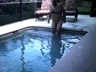 Just one of my videos that lack one thing...a pretty piece of ass joining me in this wonderful pool.  Are you the one?