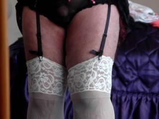 dick in sexy panties