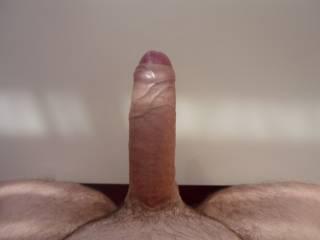 nothing like a long thick uncut cock ready to be serviced!! taste like sausage!!! wow,weeeeeeeeeeeee!!