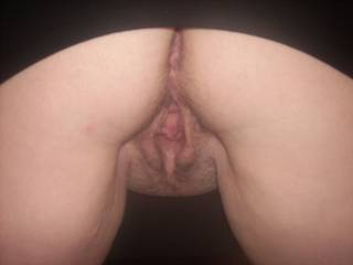 I'd rim your arsehole while fingering your cunt then I'd fuck you in both your holes before shooting my spunk over your face and tits.