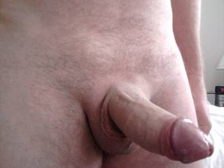 """50 yr old Cock!! Un-Cut and looking so GOOD too mmm. Happy Birthday Sexy!! Enjoy the Big """"50"""" ;)  Lucy♥ -x-"""