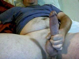 Big beautiful cock, looks yummy!!!