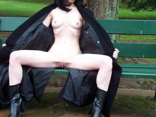 would love to make your park more interesting by having your legs spread over my shoulders while I go down and give that lovely pussy a damn good licking