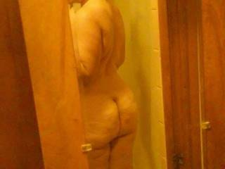 my fat ass in the mirror