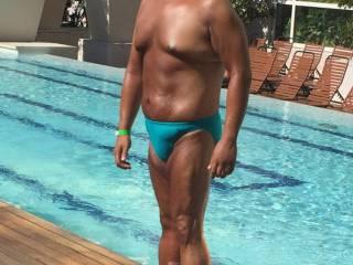 Bikini, speedo, thongs, underwear, sunbathing, Atlantic City