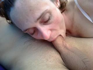 Slutwife Jen enjoying a cock