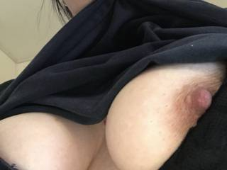 Can not wait for a good sucking! I love hickies on my titties