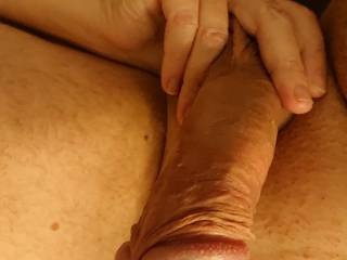 Luv when wife touching my balls
