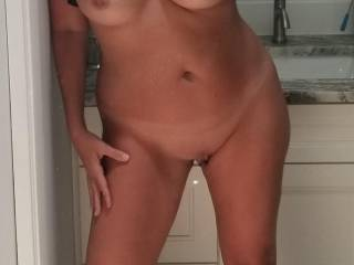 I'm home all alone and so horny. How would you entertain me?