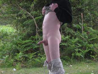 that's a great picture. being naked and having sex outdoors is such wonderful fun isnt it? is especially nice when there is that element of being seen by others as they pass by mmmmm
