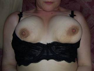 This nipples need a hot tongue round them - any offers?