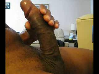 Wow....whata beautiful penis. Never had a black guy unside of me, but sure would like you to mount me while on my back, and scew mw full of ur yummy semen! xoxo, Heidi