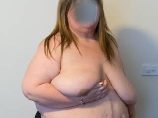 Big saggy tits!