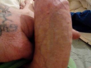 That is one hot cock and sexy looking feet