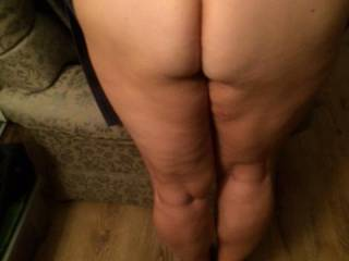bent over for a spanking