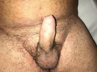 Boyfriend waiting for his dick to me sucked