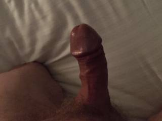 Just before a blow job