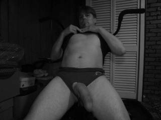 This is my big beautiful cock I would love to take it and rub it all up and down your inner thighs ladies