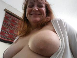 Lots of loving for you! Good place to cum? Or would you rather suck on them? Or maybe both, dear? I need to know.