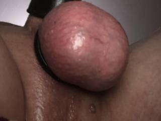Smooth tight balls needing a smooth wet pussy.