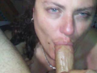 slut wife just finnished blowing my best friend in his shop while i watched and his wife was in their house.  then came home and sucked my cock and ate my ass