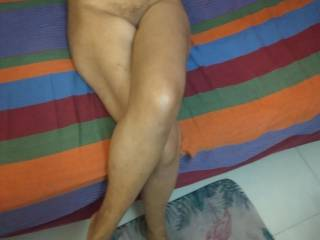 Look at my wife\'s body and cum