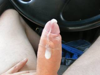 fuck yes!! love to be sucking and licking that long ,and very,very,very thick uncut cock while you drive!!! beautiful,beautiful.... mouth watering!!