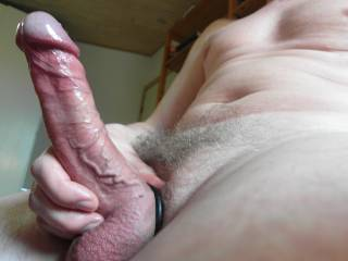 Looks great. Love the wet head and thick veins