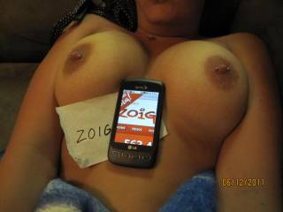 Love your tits girl. Pierced nipples are my weakness, Msg me!