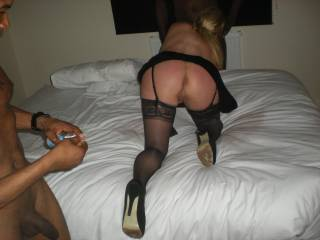 That is an amazing bottom!! I could spend all day and night playing with that pussy and ass!