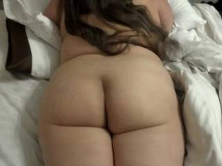 I love it!!!  There's just not enough vids on the site featuring sexy gorgeous naked ass like yours! I'd love to be on that bed with you just to better watch your ass move like that!!!  More please!!!