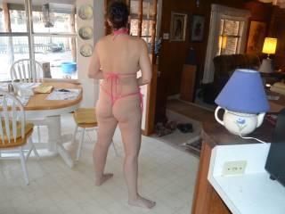 That ass would make a bin bag look sexy