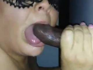 This BBC is very fun. He almost came very early, but he pulled out for a few seconds then gave me all I wanted with a great cumshot finale
