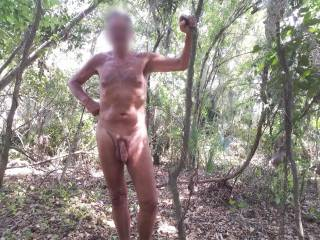 I love being naked outdoors and I look for opportunities all the time to relax and enjoy it. Part of that thrill is to then share it with you.