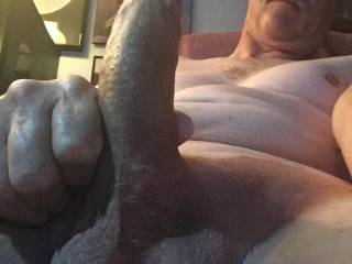 Freshly shaven cock and balls